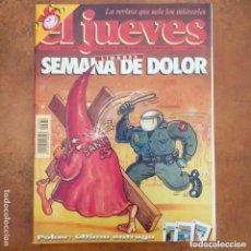 Coleccionismo de Revista El Jueves: EL JUEVES NUM 879. LINARES SEMANA DE DOLOR. Lote 195187783