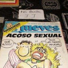 Coleccionismo de Revista El Jueves: REVISTA SATÍRICA EL JUEVES 753 AÑO 1991 VER FOTOS ESTADO ALGUNA ARRUGA LOMO. Lote 195339475