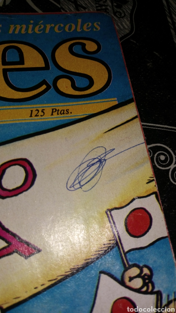 Coleccionismo de Revista El Jueves: Revista satírica el jueves 408 año 1985 ver fotos estado lomo alguna arruga y pintada a bolígrafo - Foto 2 - 195339556