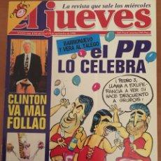 Coleccionismo de Revista El Jueves: REVISTA EL JUEVES 1113. Lote 196379882