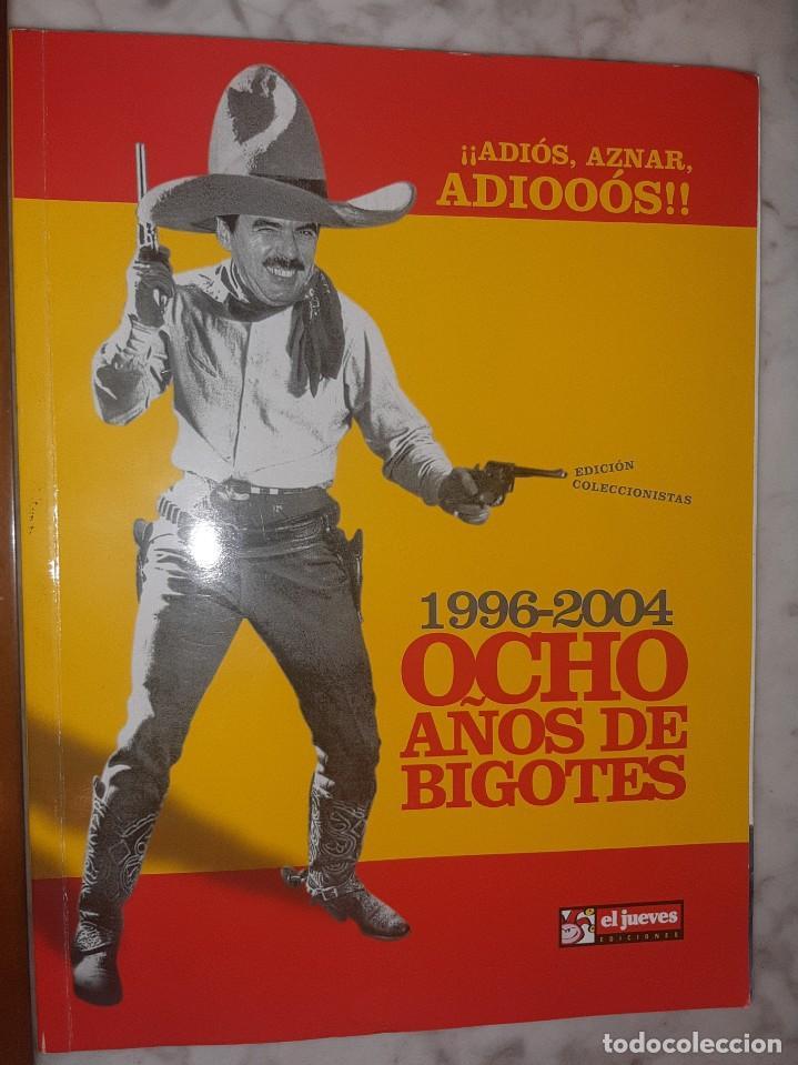 REVISTA JUEVES OCHO AÑOS DE BIGOTES (Coleccionismo - Revistas y Periódicos Modernos (a partir de 1.940) - Revista El Jueves)