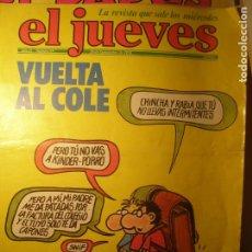 Coleccionismo de Revista El Jueves: EL JUEVES Nº 69 20/09/78 VUELTA AL COLE. CON POSTER CENTRAL.. Lote 199396648
