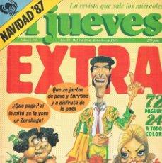 Coleccionismo de Revista El Jueves: REVISTA EL JUEVES ESPECIAL NAVIDAD 87 NUMERO 550 1987. Lote 199457771