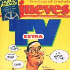 Coleccionismo de Revista El Jueves: REVISTA EL JUEVES EXTRA TV NUMERO 519 AÑO 1987. Lote 199458970