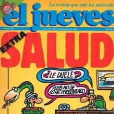 Coleccionismo de Revista El Jueves: REVISTA EL JUEVES EXTRA SALUD NUMERO 563. Lote 199459690