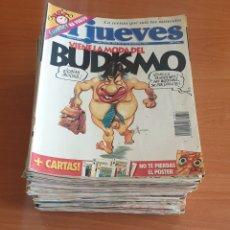 Coleccionismo de Revista El Jueves: LOTE 8: LOTE DE 50 REVISTAS EL JUEVES AÑOS 80-90. Lote 200117081