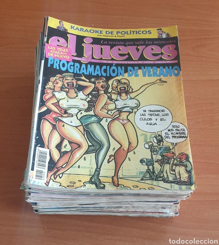 LOTE 7: LOTE DE 50 REVISTAS EL JUEVES AÑOS 80-90 (Coleccionismo - Revistas y Periódicos Modernos (a partir de 1.940) - Revista El Jueves)