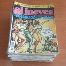 Coleccionismo de Revista El Jueves: LOTE 7: LOTE DE 50 REVISTAS EL JUEVES AÑOS 80-90. Lote 200117185