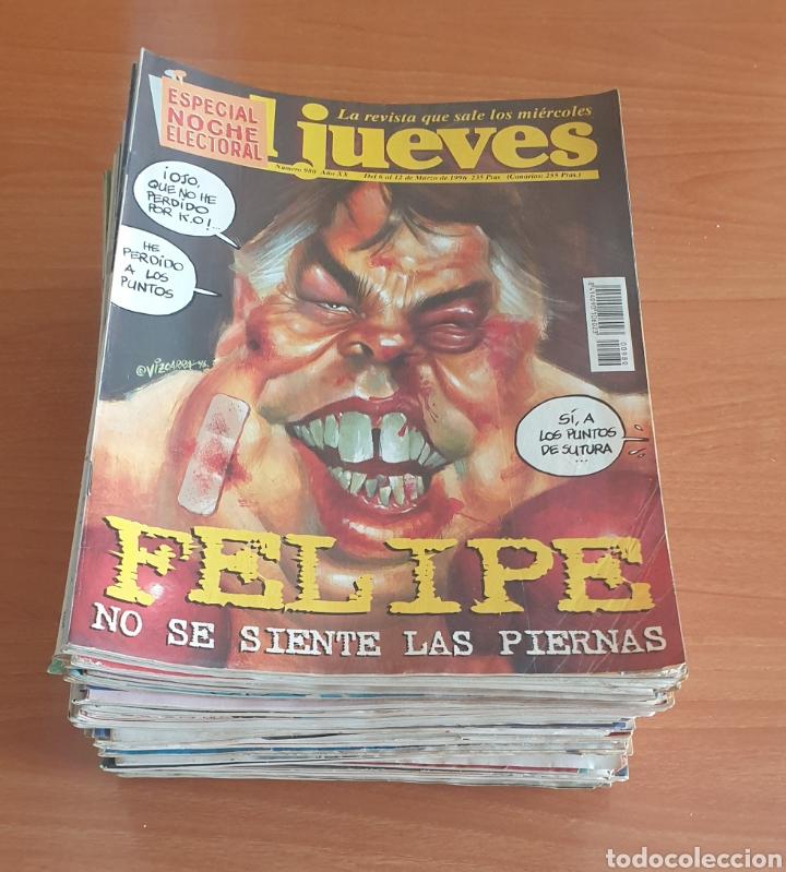LOTE DE 50 REVISTAS EL JUEVES AÑOS 80-90 (Coleccionismo - Revistas y Periódicos Modernos (a partir de 1.940) - Revista El Jueves)