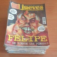 Coleccionismo de Revista El Jueves: LOTE 6: LOTE DE 50 REVISTAS EL JUEVES AÑOS 80-90. Lote 200117713