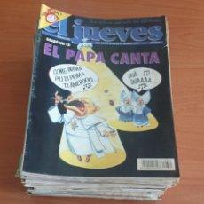 Coleccionismo de Revista El Jueves: LOTE 5: LOTE DE 50 REVISTAS EL JUEVES AÑOS 80-90. Lote 200117907