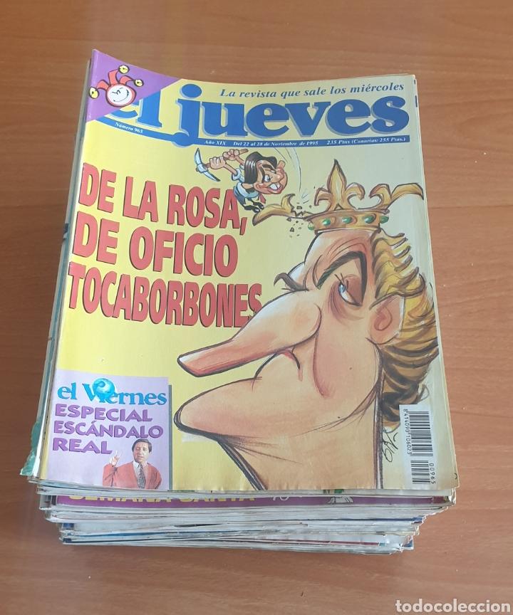 LOTE 2: LOTE DE 50 REVISTAS EL JUEVES AÑOS 80-90 (Coleccionismo - Revistas y Periódicos Modernos (a partir de 1.940) - Revista El Jueves)