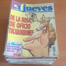 Coleccionismo de Revista El Jueves: LOTE 2: LOTE DE 50 REVISTAS EL JUEVES AÑOS 80-90. Lote 200118190