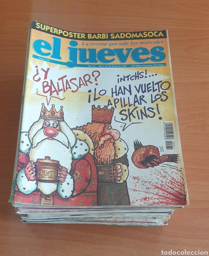 LOTE 1: LOTE DE 50 REVISTAS EL JUEVES AÑOS 80-90 (Coleccionismo - Revistas y Periódicos Modernos (a partir de 1.940) - Revista El Jueves)
