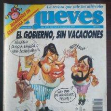 Coleccionismo de Revista El Jueves: UNA REVISTA EL JUEVES Nº 845 DEL 4-10 AGOSTO 1993, VARIOS NÚMEROS A ELEGIR, 723, 848, 849,. Lote 200288497