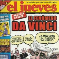 Coleccionismo de Revista El Jueves: REVISTA EL JUEVES NUMERO 1512. Lote 201215940