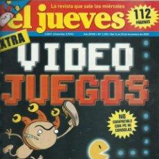 Coleccionismo de Revista El Jueves: EL JUEVES EXTRA LOS VIDEOJUEGOS. Lote 201337897
