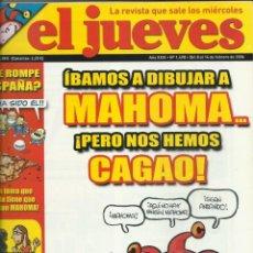 Coleccionismo de Revista El Jueves: EL JUEVES NUMERO 1498. Lote 201340605