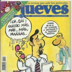 Coleccionismo de Revista El Jueves: REVISTA EL JUEVES NUMERO 994. Lote 201345242
