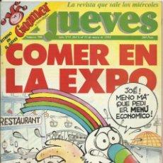 Coleccionismo de Revista El Jueves: REVISTA EL JUEVES NUMERO 780. Lote 201348403