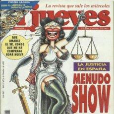 Coleccionismo de Revista El Jueves: REVISTA EL JUEVES NUMERO 961. Lote 201349213