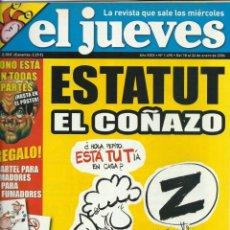 Coleccionismo de Revista El Jueves: REVISTA EL JUEVES NUMERO 1495. Lote 201372178