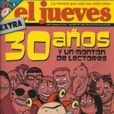 Coleccionismo de Revista El Jueves: REVISTA EL JUEVES NUMERO 1565. Lote 201373092