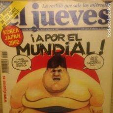Collectionnisme de Magazine El Jueves: EL JUEVES NUMERO 1306 JUNIO 2002 A POR EL MUNDIAL . Lote 201498647