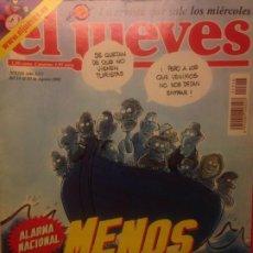 Collectionnisme de Magazine El Jueves: EL JUEVES NUMERO 1316 - 14 AL 20 AGOSTO 2002 - ALARMA NACIONAL , MENOS TURISTAS. Lote 201498936