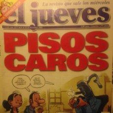 Collectionnisme de Magazine El Jueves: EL JUEVES NUMERO 1328 - 6 AL 12 NOVIEMBRE 2002 - PISOS CAROS. Lote 201499076