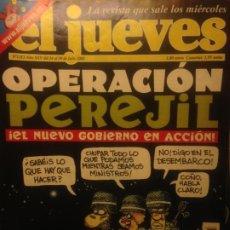Collectionnisme de Magazine El Jueves: EL JUEVES NUMERO 1313 24 AL 30 DE JULIO 2002 - OPERACION PEREJIL. Lote 201499266