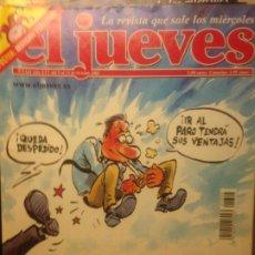 Collectionnisme de Magazine El Jueves: EL JUEVES NUMERO 1324 - 9 AL 15 OCTUBRE 2002 - SE PROHIBIRA EL TABACO EN EL TRABAJO. Lote 201499328