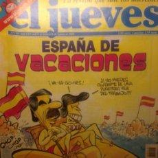 Collectionnisme de Magazine El Jueves: EL JUEVES NUMERO 1314 - 31 DE JULIO AL 6 DE AGOSTO 2002 - ESPAÑA DE VACACIONES . Lote 201499445