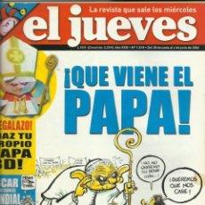 Coleccionismo de Revista El Jueves: REVISTA EL JUEVES NUMERO 1518 . Lote 201563017