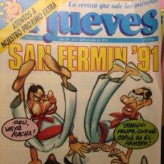 Coleccionismo de Revista El Jueves: EL JUEVES NUMERO 736 - 3 AL 9 JULIO 1991 - SAN FERMIN 91. Lote 202286647