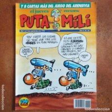 Coleccionismo de Revista El Jueves: PUTA MILI NUM 62. Lote 202451010
