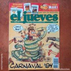 Coleccionismo de Revista El Jueves: EL JUEVES NUM 872. CARNAVAL 94. Lote 202559532