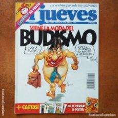 Coleccionismo de Revista El Jueves: EL JUEVES NUM 873. VUELVE LA MODA DEL BUDISMO. Lote 202559566