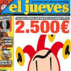 Coleccionismo de Revista El Jueves: EL JUEVES Nº 1573. Lote 203103547