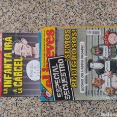 Coleccionismo de Revista El Jueves: EL JUEVES LA INFANTA, ESPECIAL SECUESTRO. Lote 203138678