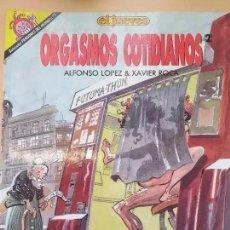 Coleccionismo de Revista El Jueves: PENDONES DEL HUMOR NUM 77 ORGASMOS COTIDIANOS (2). Lote 203916168