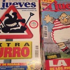 Coleccionismo de Revista El Jueves: 25 NÚMEROS DE EL JUEVES. Lote 204195320
