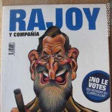Colecionismo da Revista El Jueves: RAJOY Y COMPAÑÍA / ZAPATERO Y COMPAÑIA. EXTRA JUEVES. PRIMERA EDICIÓN 2008. Lote 204767532