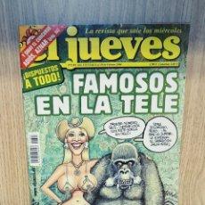 Coleccionismo de Revista El Jueves: EL JUEVES REVISTA SEMANAL N°1393. Lote 205072763