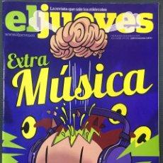 Collectionnisme de Magazine El Jueves: EL JUEVES Nº 1.751(2010) EXTRA MÚSICA 92 PÁGINAS. Lote 205182697