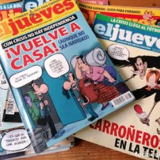 Coleccionismo de Revista El Jueves: LOTE 22 EL JUEVES. Lote 205341605