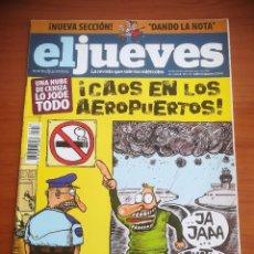 Collectionnisme de Magazine El Jueves: REVISTA EL JUEVES Nº 1718 MAYO 2010 UNA NUBE DE CENIZA LO JODE TODO. ¡CAOS EN LOS AEROPUERTOS!. Lote 205388611