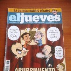 Coleccionismo de Revista El Jueves: REVISTA EL JUEVES Nº 1671 JUNIO 2009 ABURRIMIENTO EUROPEO. Lote 205392262