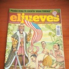 Coleccionismo de Revista El Jueves: REVISTA EL JUEVES Nº 1662 ABRIL 2009 OBAMA DESCUBRE EUROPA. Lote 205393091