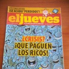 Coleccionismo de Revista El Jueves: REVISTA EL JUEVES Nº 1723 JUNIO 2010. Lote 205393531